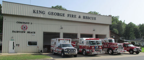 king george fire small